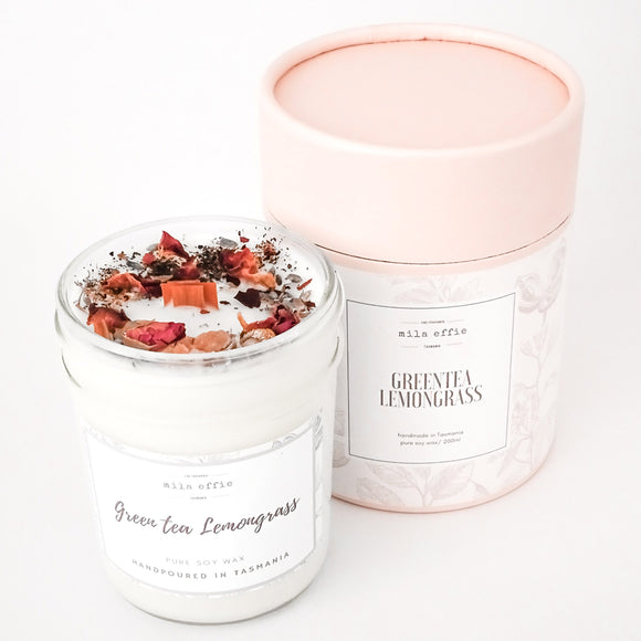 Botanical Artisan Candle