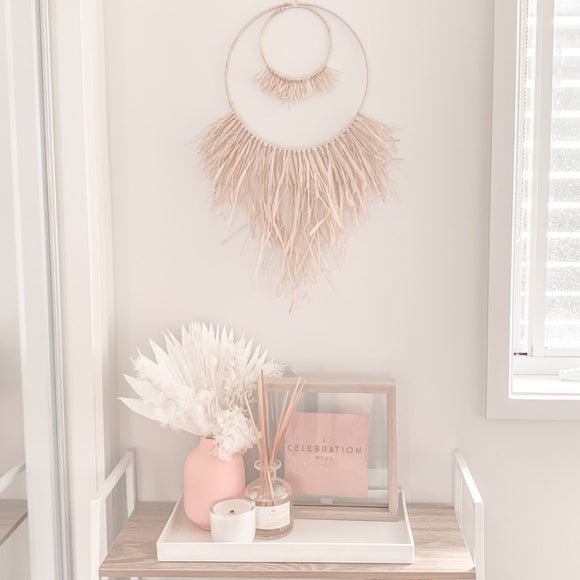 Raffia Palm Wall Hanging