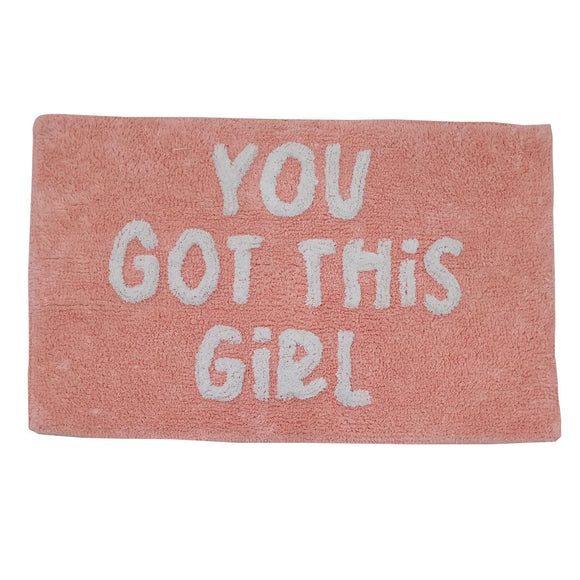 You Got This Girl! Bath Mat - PRE-ORDER