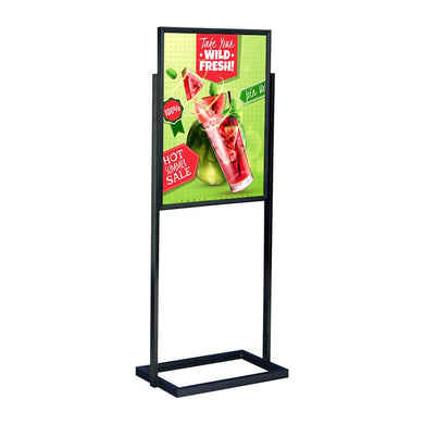 Top Load Stanchion Poster Sign Frame