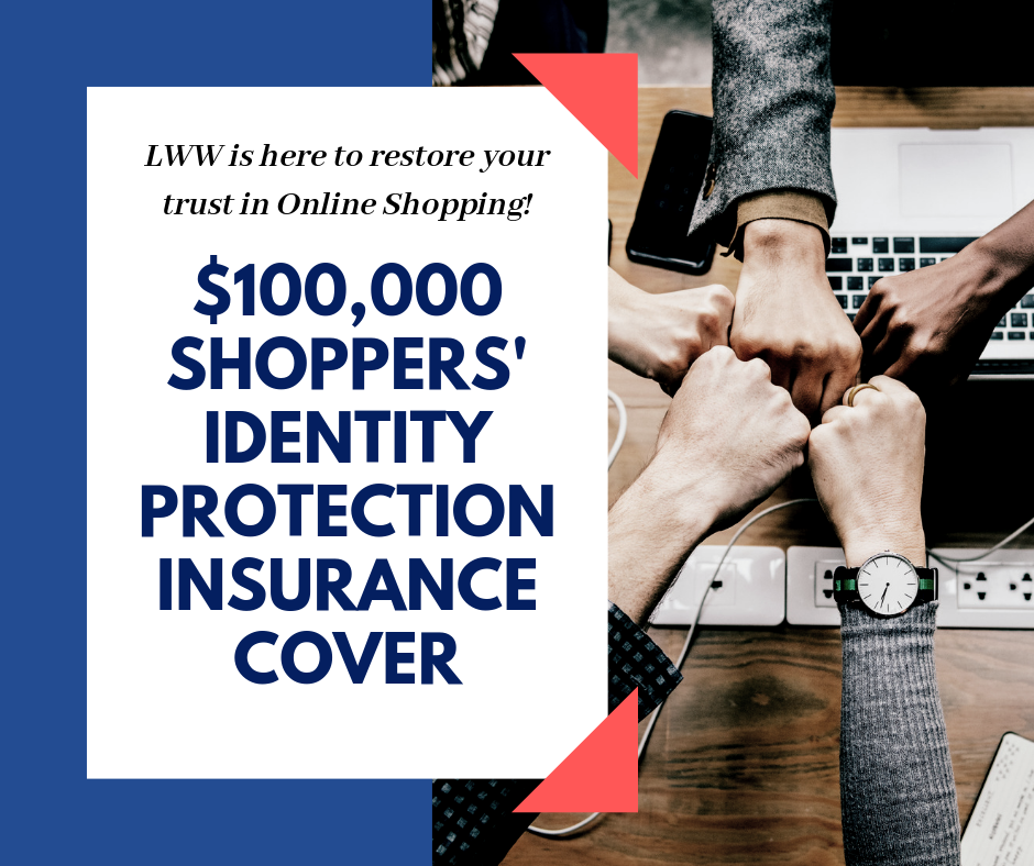 $100,000 Shoppers' Identity Protection Insurance Cover?