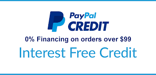 PayPal Credit - Enjoy the power to buy now & the flexibility to pay over time!