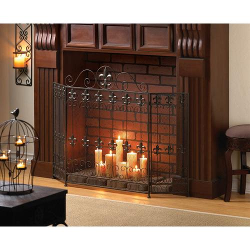 French Revival Fire Place Screen V121-10015400