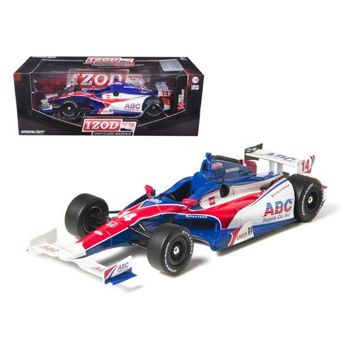 2012 Izod Indy 500 Mike Conway #14 ABC Supply Racing 1/18 Diecast Model Car by Greenlight F977-10922