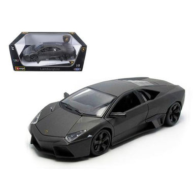 Lamborghini Reventon Matt Grey 1/18 Diecast Model Car by Bburago F977-11029gry