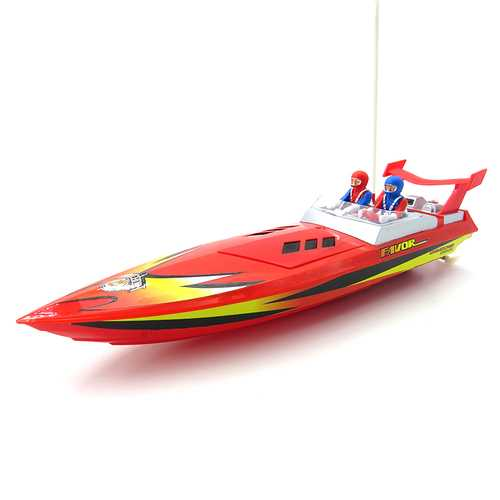 Flytec HQ5011 34CM Infrared 27MHZ 40MHZ Rc Boat 15KM/H Without Battery RTR Toys C122-1292931