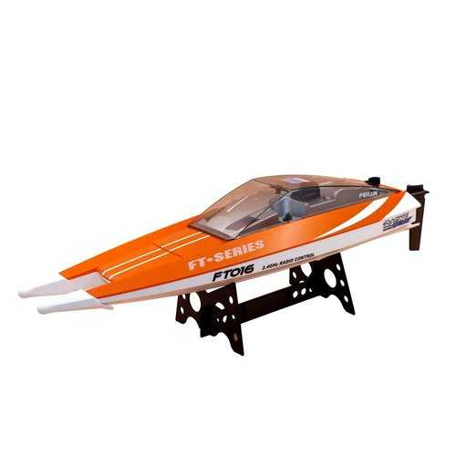 Feilun FT016 47CM 2.4G 4CH Rc Boat 540 Brushed 28km/h High Speed With Water Cooling System Toy C122-1301604