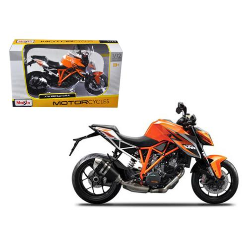 KTM 1290 Super Duke R Orange 1/12 Diecast Motorcycle Model by Maisto F977-13065