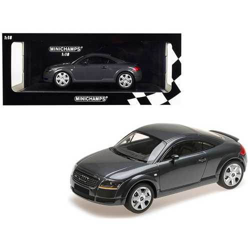 1998 Audi TT Coupe Metallic Gray Limited Edition to 300 pieces Worldwide 1/18 Diecast Model Car by  F977-155017020