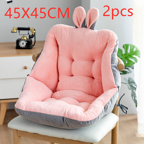 Sedentary Backrest Integrated Chair Cushion Seat Cushion