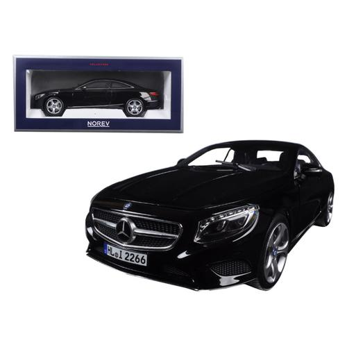 2014 Mercedes S Class Coupe Black 1/18 Diecast Model Car by Norev F977-183482