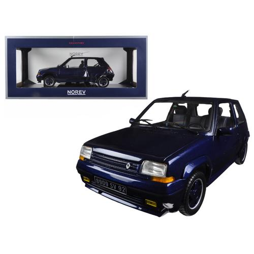 1989 Renault Supercinq GT Turbo Alain Oreille 1/18 Diecast Model Car by Norev F977-185205