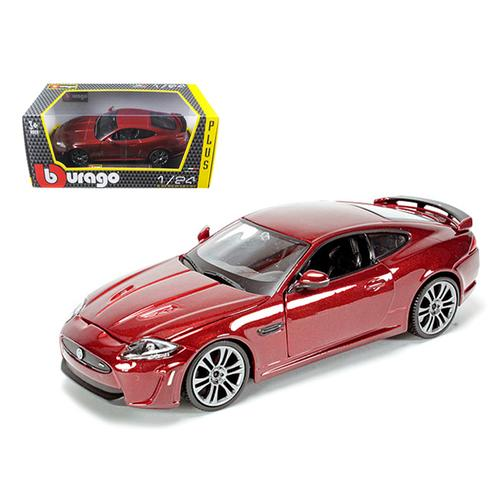 Jaguar XKR-S Burgundy 1/24 Diecast Car Model by Bburago F977-21063r