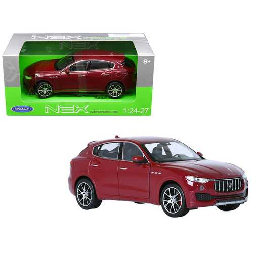 Maserati Levante Red 1/24 - 1/27 Diecast Model Car by Welly F977-24078R