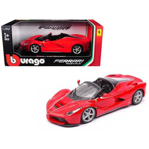 Ferrari LaFerrari F70 Aperta Red 1/24 Diecast Model Car by Bburago F977-26022R