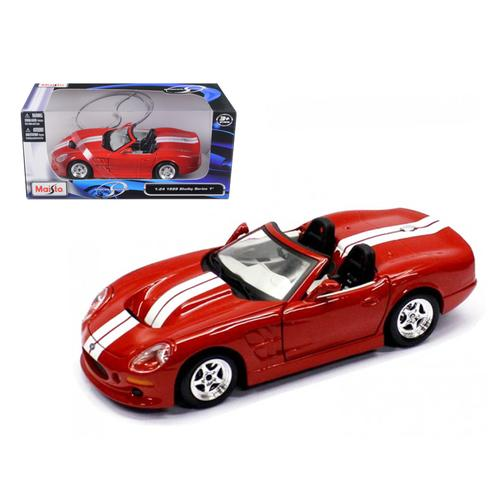1999 Shelby Series 1 Red 1/24 Diecast Model Car by Maisto F977-31277r