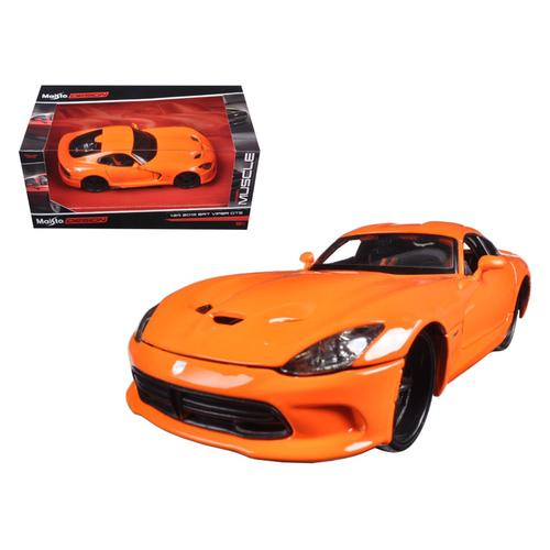 "2013 Dodge Viper GTS SRT Orange ""Modern Muscle"" 1/24 Diecast Model Car by Maisto F977-31363o"