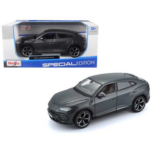 Lamborghini Urus Grey 1/24 Diecast Model Car by Maisto F977-31519gry