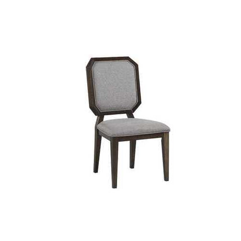 Side Chair - Set Of 2 In Gray Fabric And Tobacco - Fabric, Aspen, Mdf, Plywood N270-318896