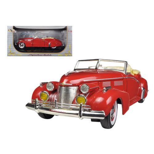 1940 Cadillac Sedan Series 62 Red 1/32 Diecast Car Model by Signature Models F977-32337r
