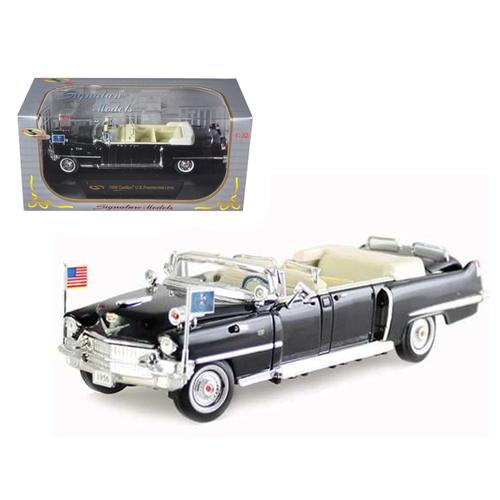 1956 Cadillac Presidential Limousine 1/32 Diecast Car Model by Signature Models F977-32356bk