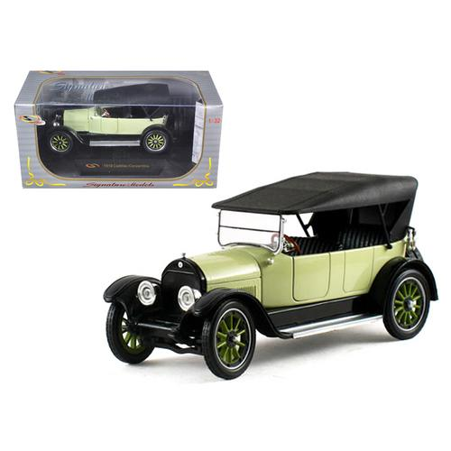 1919 Cadillac Type 57 Soft Top Lime 1/32 Diecast Model Car by Signature Models F977-32363lm