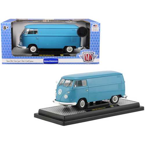 1960 Volkswagen Delivery Van Dove Blue Limited Edition to 5,880 pieces Worldwide 1/24 Diecast Model F977-40300-69A