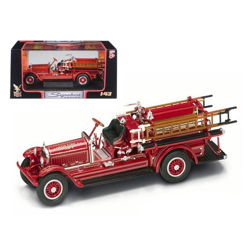 1924 Stutz Model C Fire Engine Red 1/43 Diecast Model by Road Signature F977-43006r