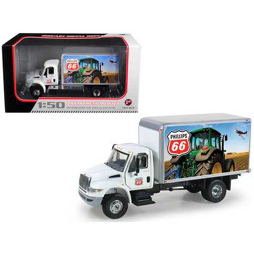 International DuraStar Phillips 66 Delivery Truck 1/50 Diecast Model by First Gear F977-50-3275