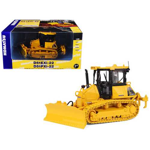 Komatsu D51EXi-22 Dozer With Ripper 1/50 Diecast Model by First Gear F977-50-3291