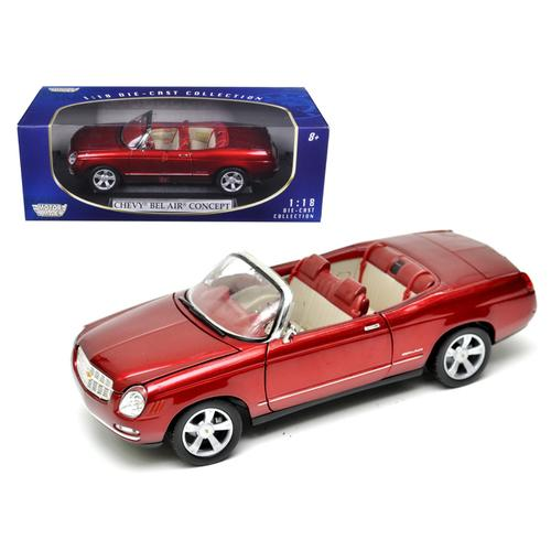 Chevrolet Bel Air Concept Red 1/18 Diecast Model Car by Motormax F977-73142rd