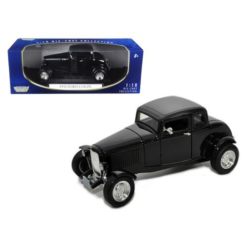 1932 Ford Coupe Black 1/18 Diecast Model Car by Motormax F977-73171bk