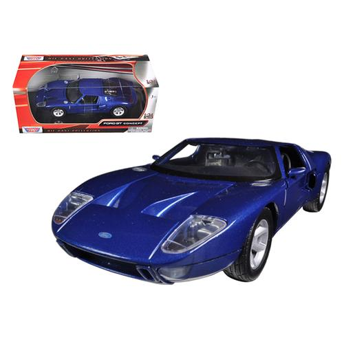 Ford GT Blue 1/24 Diecast Car Model by Motormax F977-73297bl