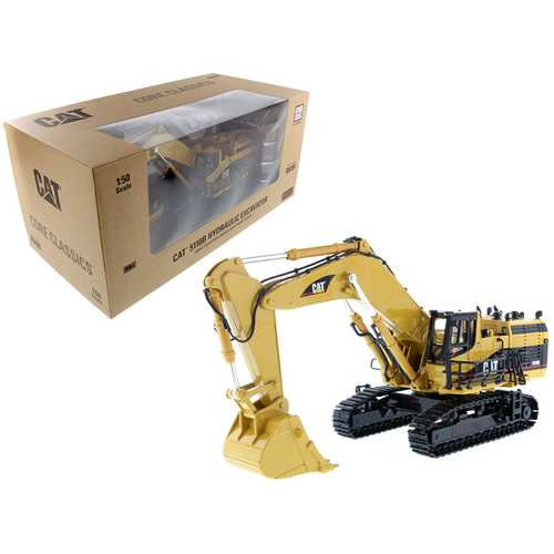 "CAT Caterpillar 5110B Excavator with Operator ""Core Classics Series"" 1/50 Diecast Model by Diecast  F977-85098C"