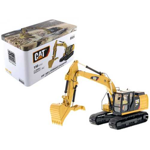 CAT Caterpillar 323F L Hydraulic Excavator with Thumb and Operator High Line Series 1/50 Diecast Mo F977-85924