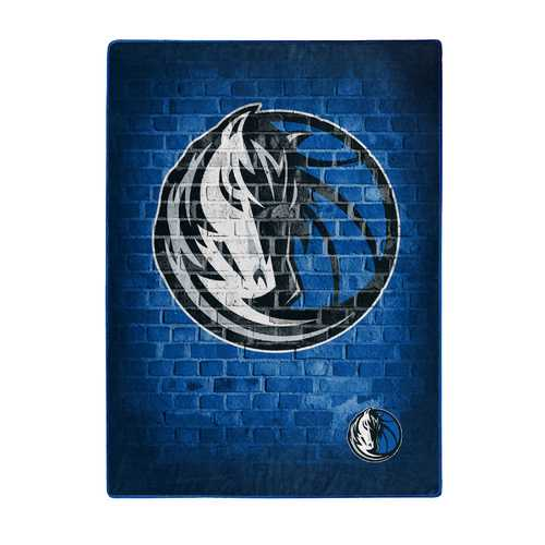 Dallas Mavericks Blanket 60x80 Raschel Street Design Special Order Z157-9060413208