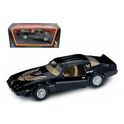 1979 Pontiac Firebird Trans Am Black 1/18 Diecast Model Car by Road Signature F977-92378bk