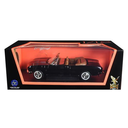 1969 Chevrolet Corvair Black 1/18 Diecast Model Car by Road Signature F977-92498BK