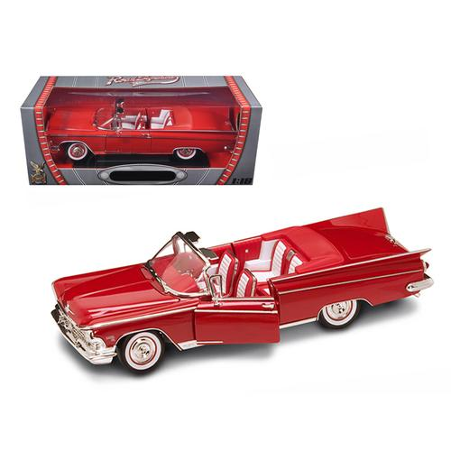 1959 Buick Electra 225 Convertible Red Diecast Model Car 1/18 by Road Signature F977-92598r