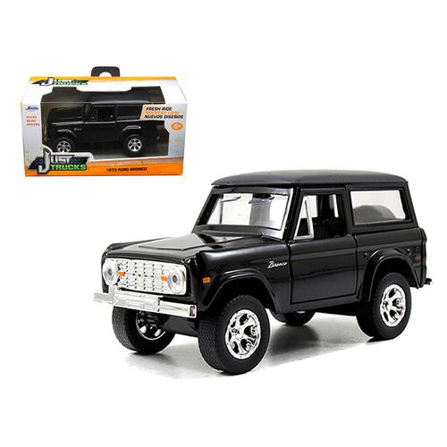 1973 Ford Bronco Black 1/32 Diecast Model Car by Jada F977-97050