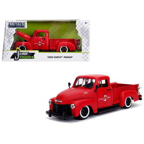 "1953 Chevrolet 3100 Pickup Truck Matt Red ""Custom Shop Classic Truck"" (Las Vegas, Nevada) ""Just Tru F977-99178"