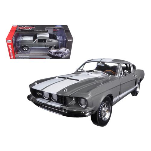 1967 Ford Shelby Mustang GT-350 Medium Gray Metallic 50th Anniversary Limited Edition to 1002pc 1/1 F977-AMM1060