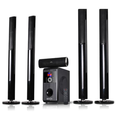 beFree Sound 5.1 Channel Surround Sound Bluetooth Speaker System-OPEN BOX D970-BFS-910-RB