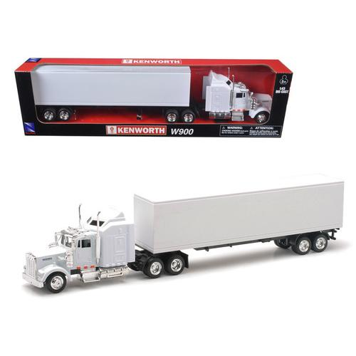 Kenworth W900 Plain White Unmarked 1/43 Model by New Ray F977-NR15843