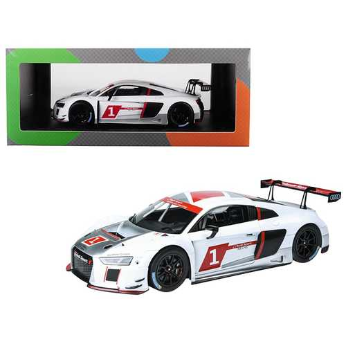 "Audi Sport R8 LMS #1 ""Presentation Car"" 1/18 Diecast Model Car by Paragon F977-PA88101"