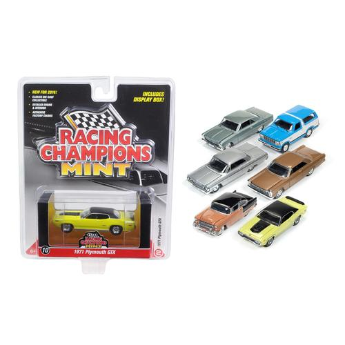 Mint Release 2 Set B Set of 6 cars 1/64 Diecast Model Cars by Racing Champions F977-RC002B