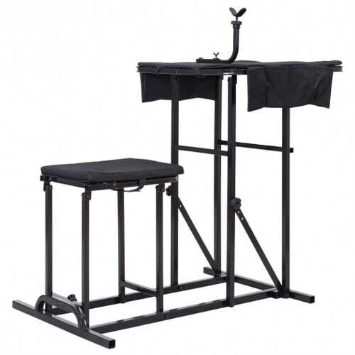 Folding Shooting Bench with Adjustable Height Adjustable Table B593-TL33105