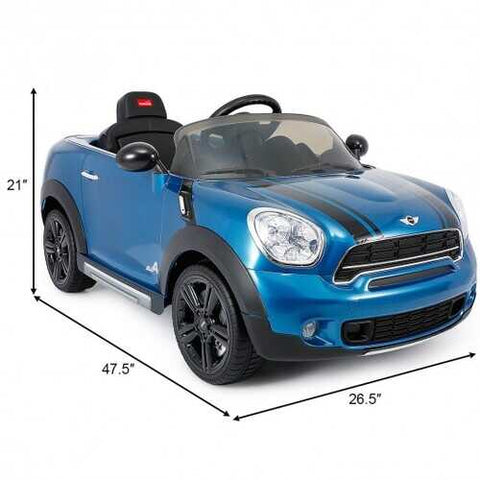 12 V Electric R/C Remote Control Kids Car-Blue B593-TY576029