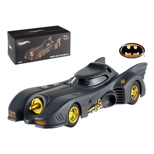 1989 Movie Batmobile Elite Edition 1/43 Diecast Model Car by Hotwheels F977-X5494