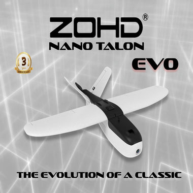 ZOHD Talon EVO 860mm Wingspan AIO V-Tail EPP FPV Wing RC Airplane PNP Outdoor Toys For Kids Children Gift w/FPV Ready